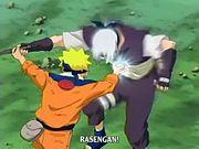 Naruto menewaskan Kabuto dengan jurus Rasengan.