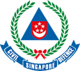 Crest of the Singapore Civil Defence Force
