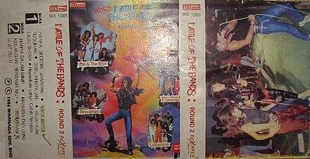 2977d023e Album hasil Battle Of The Band 2. Album hasil Battle Of The Band 2.  Pertandingan kumpulan rock kebangsaan yang pertama diadakan di Malaysia ...