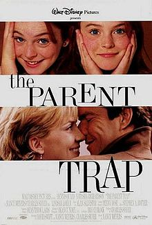 Poster tayangan pawagam filem The Parent Trap, 1998