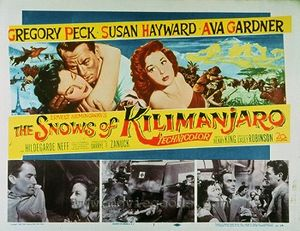 Poster Filem The Snows of Kilimanjaro, 1952.jpg