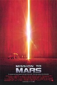 Poster tayangan pawagam filem Mission to Mars