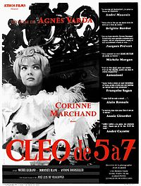 Original Poster to the 1962 Left Bank film Cléo from 5 to 7.jpg