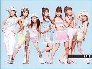 7AIR : Mika Todd, Ootani Masae, Niigaki Risa, Takahashi Ai, Ishikawa ...