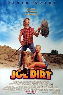 Poster tayangan pawagam filem Joe Dirt