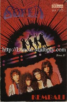 Kulit album pertama kumpulan sofea