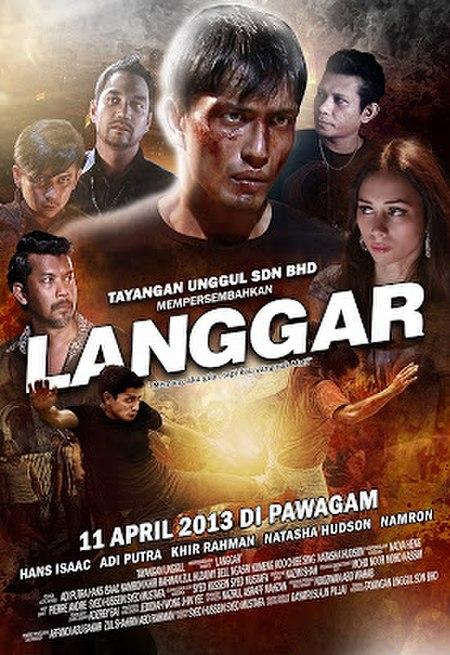 Langgar (filem)