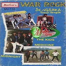 Kulit album gabungan war rock vol 1 88 1988 termasuk kumpulan