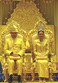 Persandingan Raja Dr Nazrin Shah dan Tuanku Zara Salim Davidson