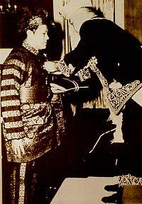 P. Ramlee menerima Pingat Kebesaran Ahli Mangku Negara(A.M.N.) daripada Seri Paduka Baginda Yang di-Pertuan Agong yang ketiga.