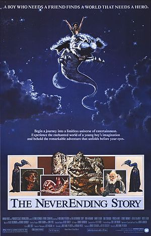 Poster tayangan pawagam filem The NeverEnding Story