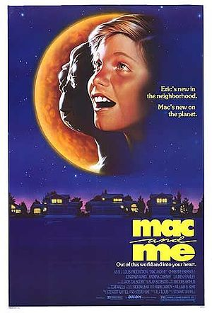 Poster tayangan pawagam filem Mac and Me