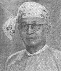 U Ba Lwin, Headmaster of Myoma National School.jpg