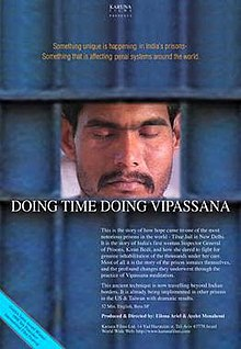 Doing time, Doing Vipassana poster.jpg
