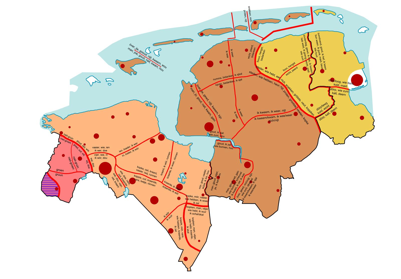 Groninga y Oost-Friesland