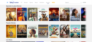 Disney+ Hotstar home page.png