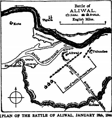 Battle of Aliwal -Our fighting services - Evelyn Wood pg413.jpg