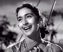 Nutan in Hrishikesh Mukherjee's Anari (1959) film.jpg