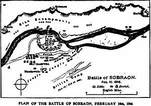 Battle of Sobraon -Our fighting services - Evelyn Wood pg416.jpg