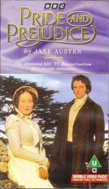 Pride Prejudice 1995 VHS PAL Rated U Double Pack.jpg