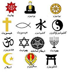 د نړيالو اديانو او مذهبونو نښې