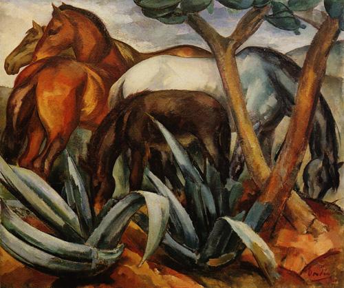 Ficheiro:Dordio Gomes, Éguas de manada, 1929, óleo sobre tela, 106 x 126 cm.jpg
