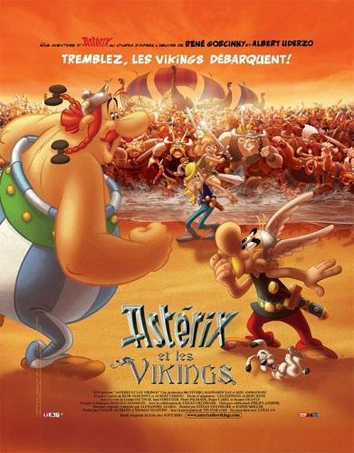 Resultado de imagem para asterix e os vikings dublado