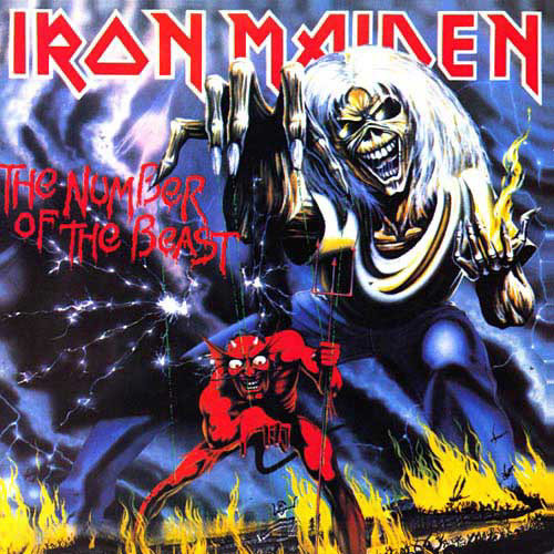 Iron Maiden Number Of The Beast Single The Number of the Beas...
