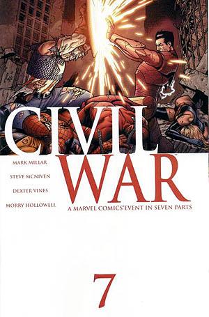 Guerra Civil (Marvel Comics) – Wikipédia, a enciclopédia livre