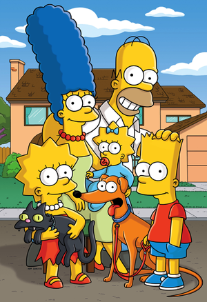 simpson Marge and bart