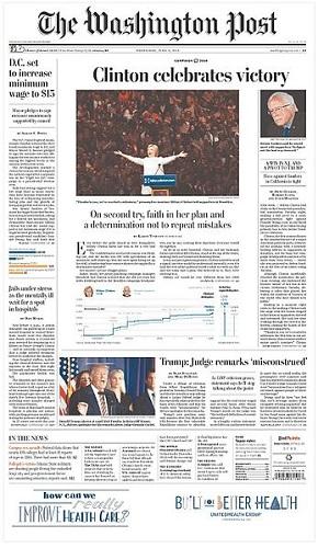 Veja o que saiu no Migalhas sobre The Washington Post