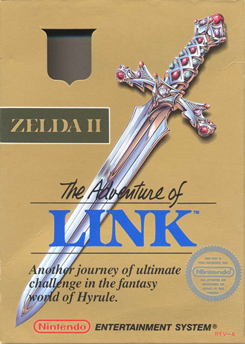 Zelda II: The Adventure of Link 3DS ROM Download
