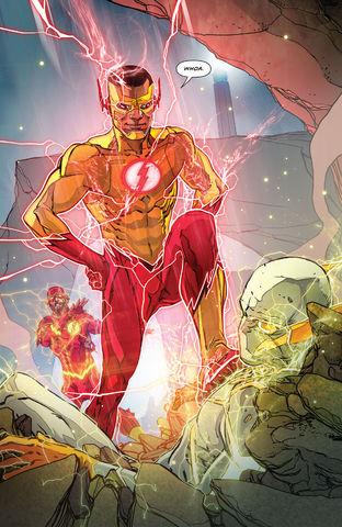 Kid Flash Wally West Prime Earth 0002