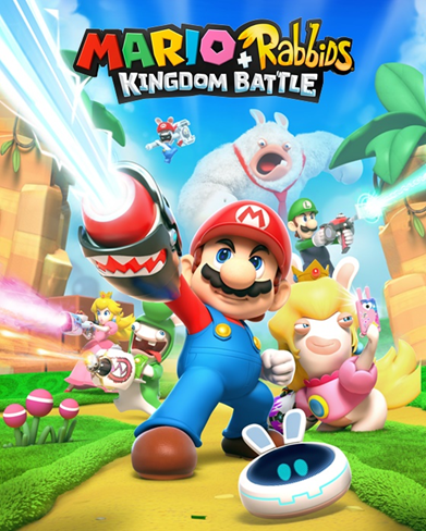Picture of a game: Mario + Rabbids Kingdom Battle