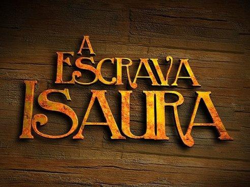 Resultado de imagem para logotipo novela escrava isaura