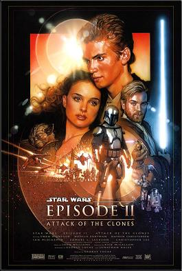 STAR WARS: EPISÓDIO II – ATAQUE DOS CLONES (2002) GUERRA NAS ESTRELAS