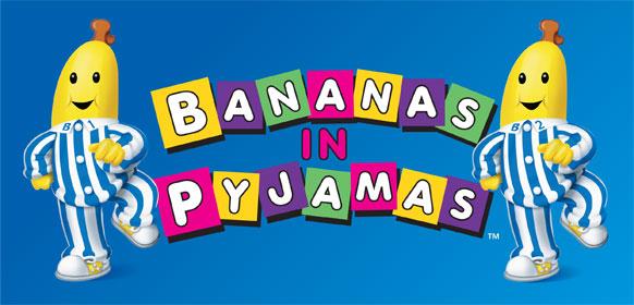 Bananas In Pajamas Crib Bedding