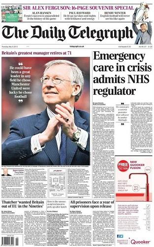 Veja o que saiu no Migalhas sobre The Daily Telegraph