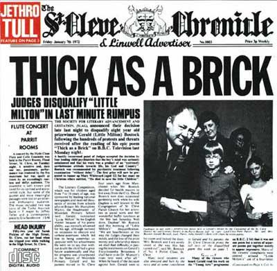 Resultado de imagem para thick as a brick