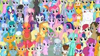 89e04e730 Cena de personagens do episódio 26 da quinta temporada da série. Lista de  personagens de My Little Pony: ...