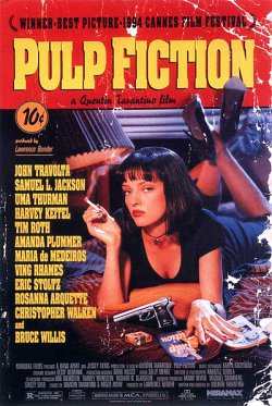 PULP FICTION: TEMPO DE VIOLÊNCIA (PULP FICTION) - 1994