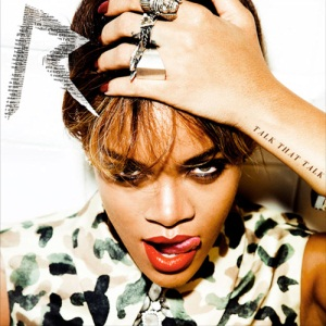 Rihanna Talk That Talk Cd Cover Art Birthday Cake