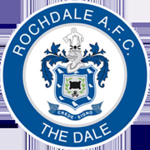 Resultado de imagem para Rochdale football escudo