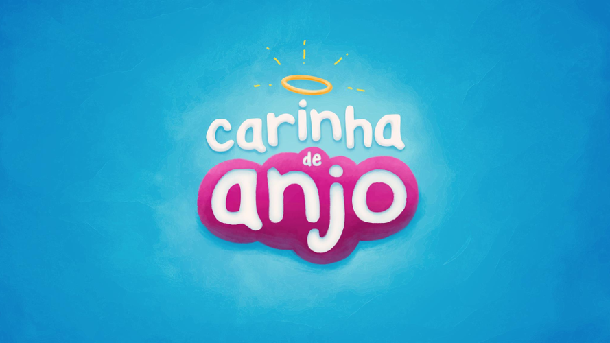 Resultado de imagem para logo da novela carinha de anjo 2016