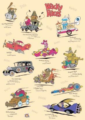 Desenho Corrida Maluca 1968 - 1969 Torrent