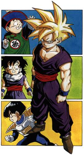 As várias faces de Gohan