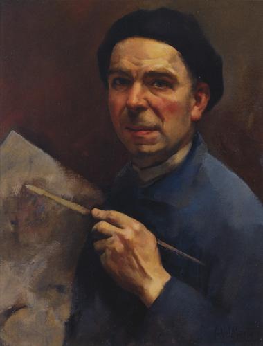 Ficheiro:Manta, Abel, Aurorretrato, c 1939, óleo sobre tela, 65 x 50 cm.jpg