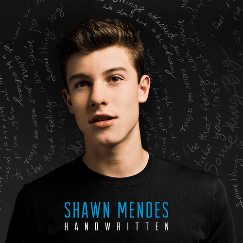 Resultado de imagem para shawn mendes handwritten capa do album