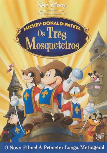 Mickey, Donald e Pateta em: Os Três Mosqueteiros Torrent