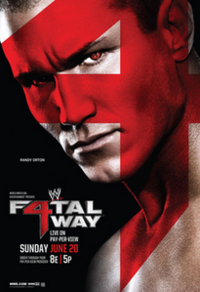 cartaz do evento Fatal 4-Way.